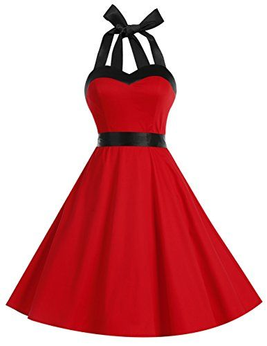 Dresstells Neckholder Rockabilly 50er Vintage Retro Kleid... https ...