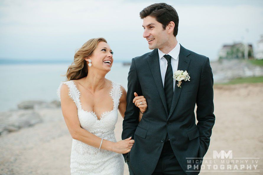 Ginger Zee On The Day Of Her Wedding With Her Father And Stepfather She Shares How Lucky She Is To Ha Wedding Photography Wedding Dresses Lace Wedding Dresses