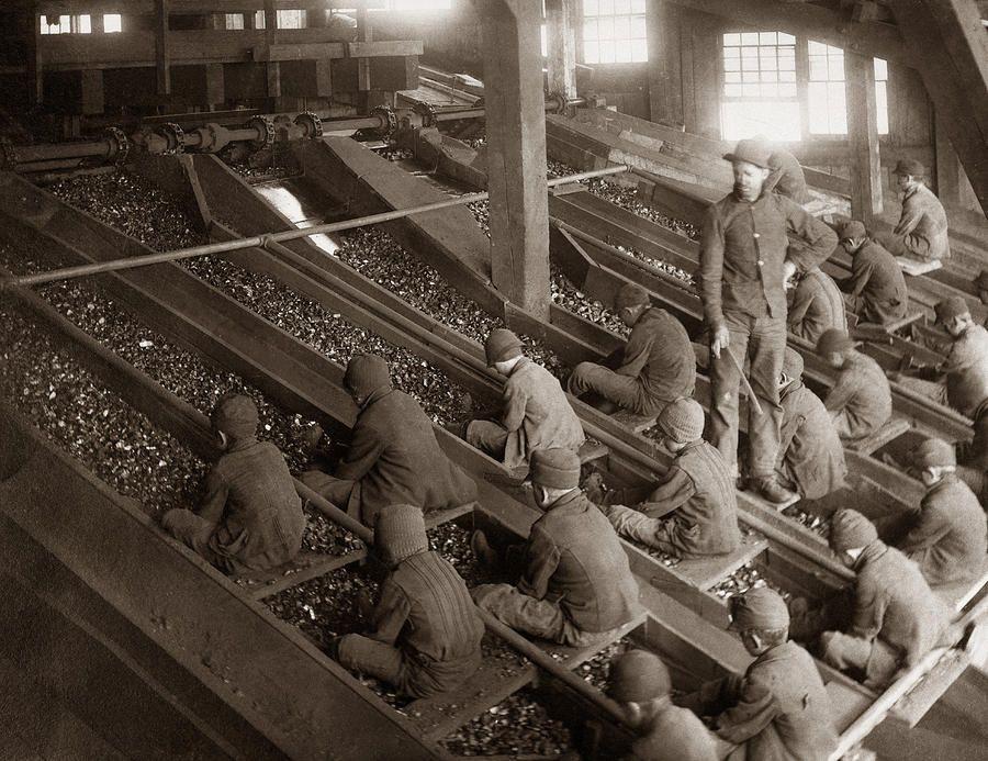 Breaker Boys Lehigh Valley Coal Co Maltby Pa Near