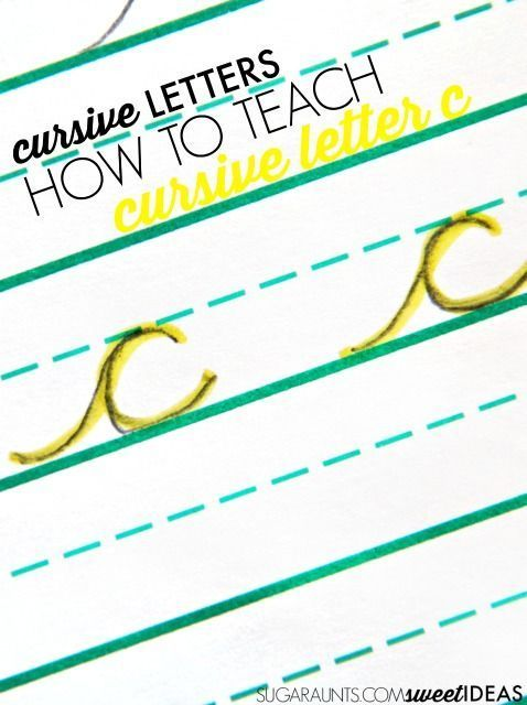 How to Make Letter C in Cursive Cursive and Cursive letters - how to make a letter
