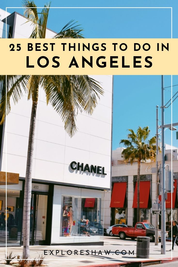 25 Best Things To Do In LA For Your First Visit #usatravel