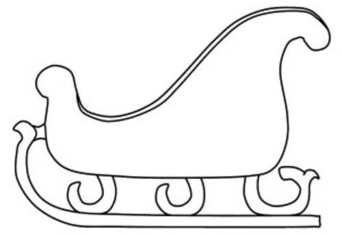 Santa Claus Sleigh Coloring Pages Santa Sleigh Coloring Pages