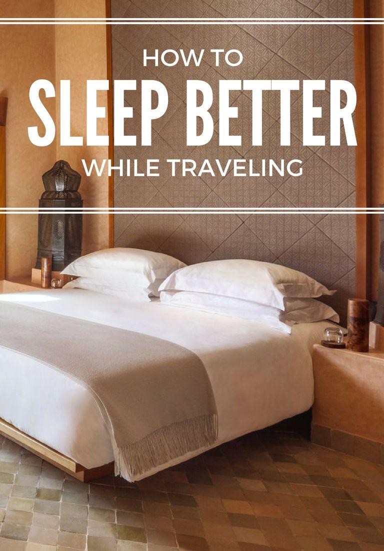 How to Sleep Better While Traveling | Sleep, Travel, leisure ...