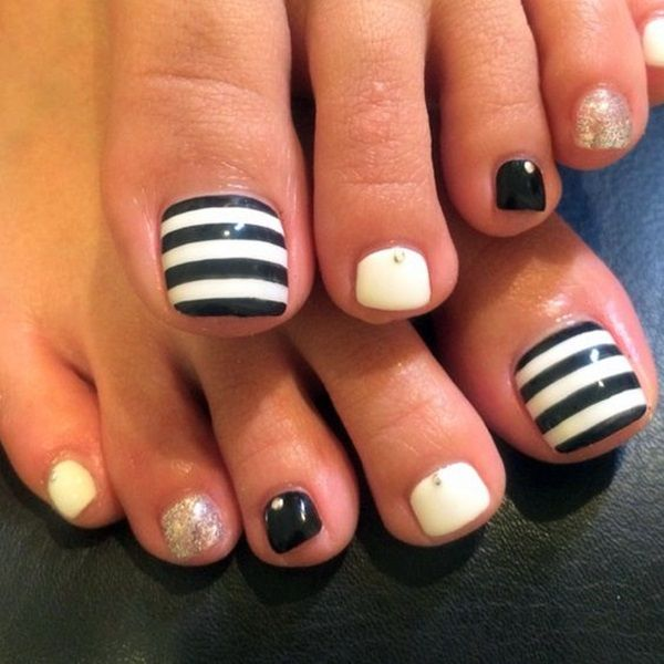 45 Cute Toe Nail Designs And Ideas Fashion Enzyme Outfits Ideas