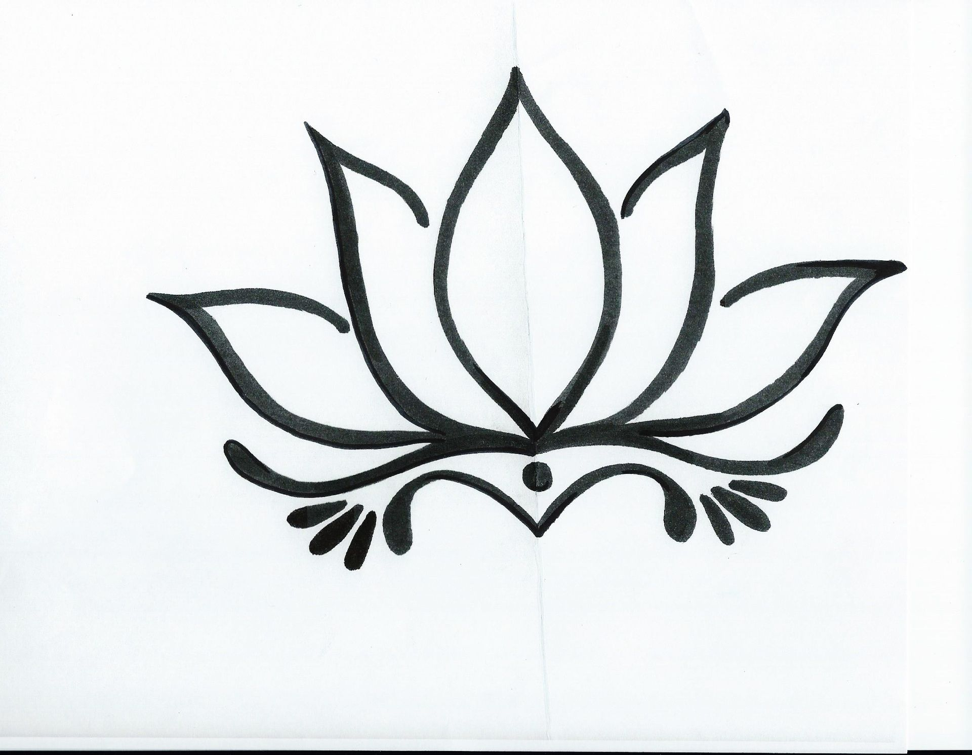 Simple Lotus Flower Drawing Tattoo Tattoo Ideas Pinterest эскизы