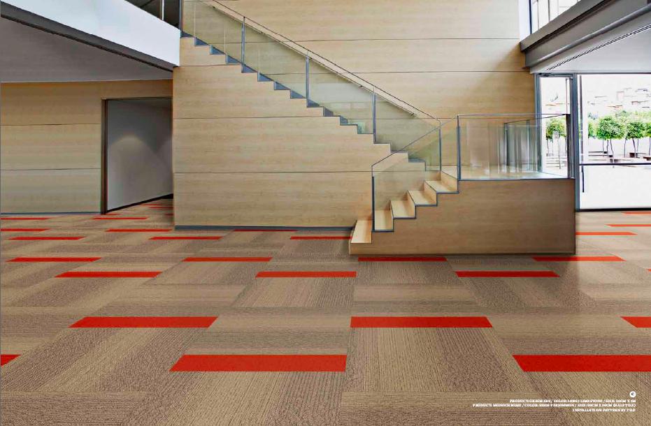 Interface Carpet Tiles Providing A Pop Of Color Carpet Tiles