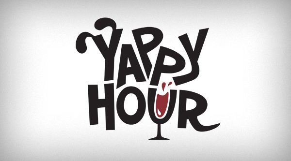 Greenville Humane Society – Yappy Hour Logo & Posters by Chris Turner, via Behance