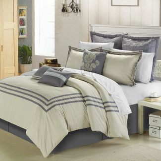 <strong>Chic Home</strong> Cosmo 8 Piece Comforter Set