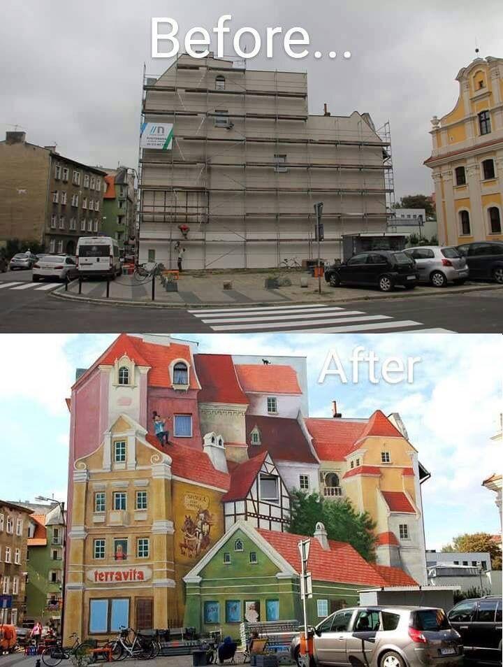 Poznan En Polonia Painting Rua Arte