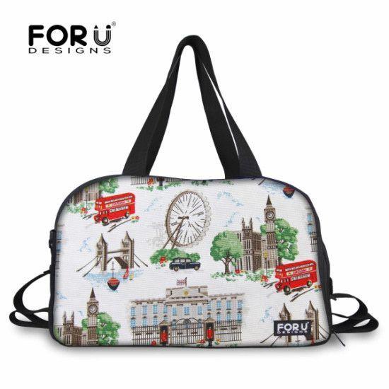 160e1f7db8f7 FORUDESIGNS 2017 Women Big Travel Bags
