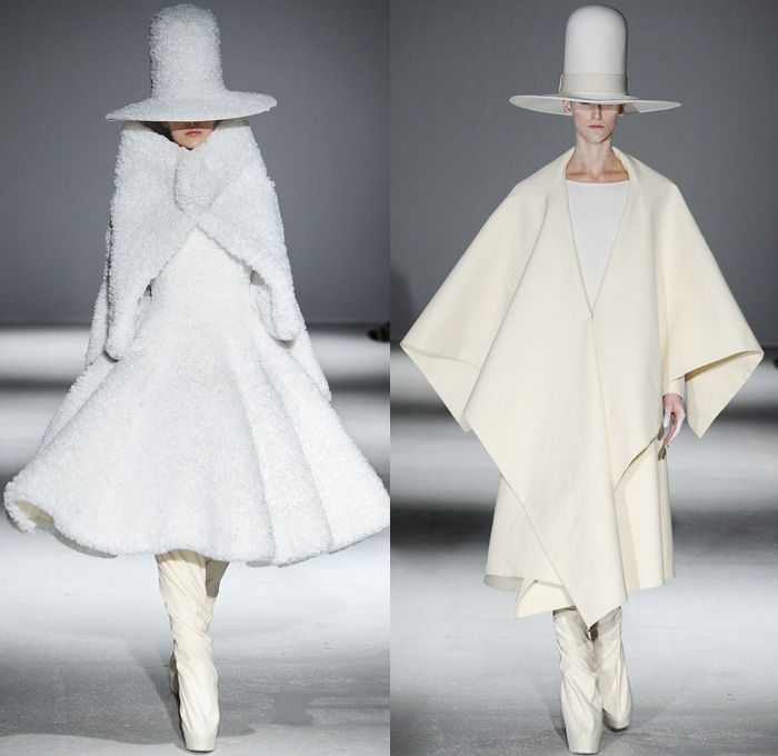 Gareth Pugh 2014-2015 Fall Autumn Winter Mens Runway Looks Fashion