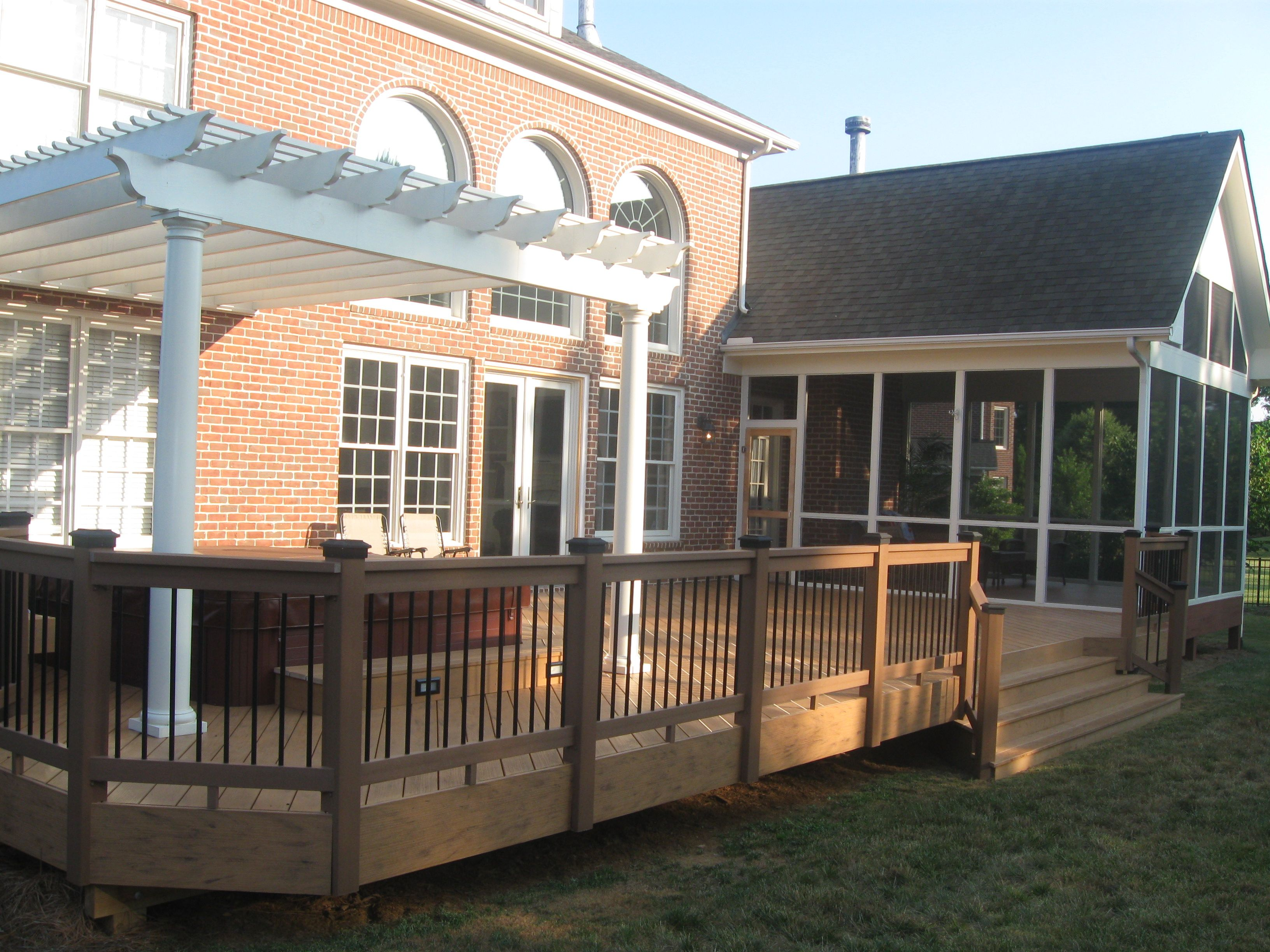 Cost to build pergola - 17 Best Images About Pergolas By Archadeck Of Raleigh Durham On Pinterest Paint Stain Build A Deck And Wood Decks