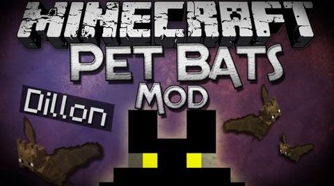 Pet Bat Mod For Minecraft 1 10 2 1 7 10 Adds The Ability To Tame