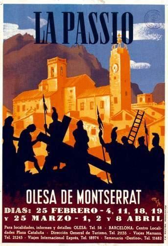 Olesa de Montserrat, La passio - (Baste) -