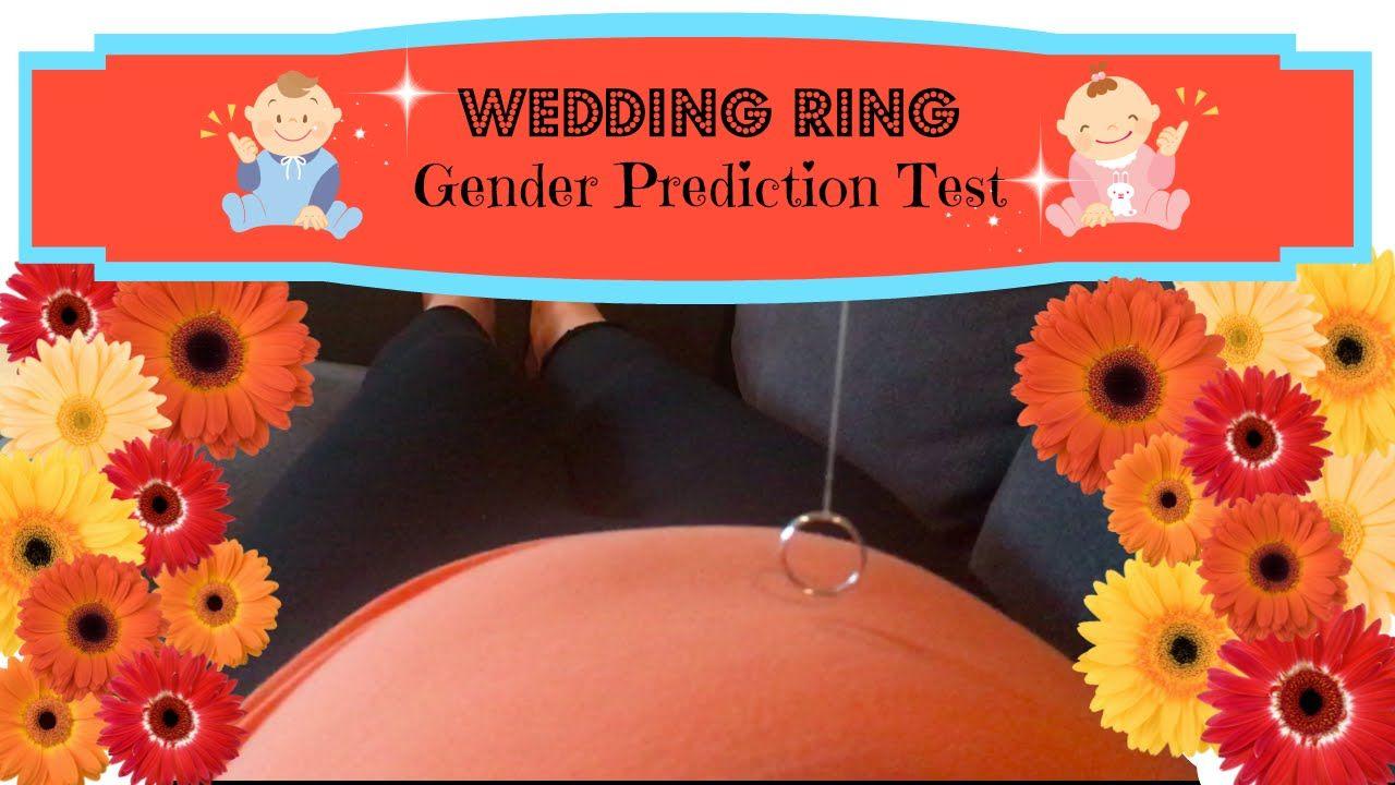 Wedding Ring Gender Test Angie Lowis