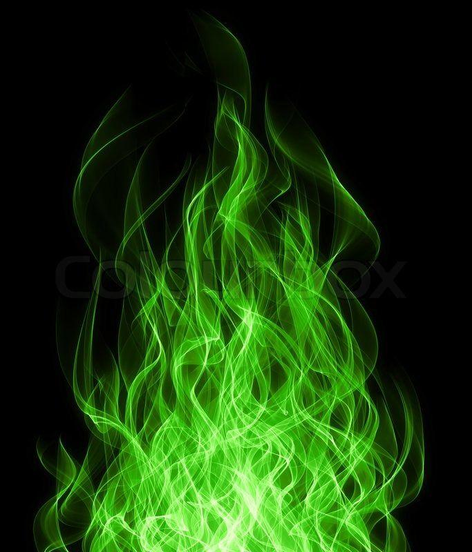 Green Flame Google Search Blue Flame Tattoo Flame Art Fire Art