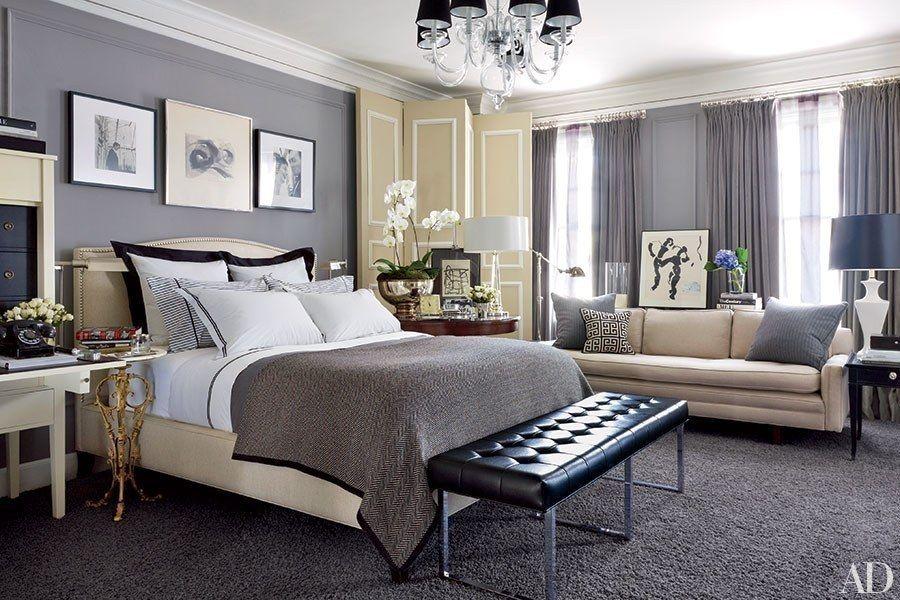 Modernes Schlafzimmer Grau Ideen #Badezimmer #Büromöbel #Couchtisch ...