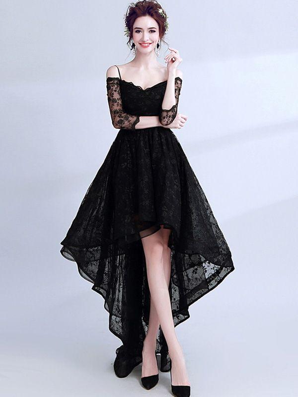 29e7ffc93f7 STEAMPUNK STORY Robe bustier noire mi longue bouffante dentelle fleurie  lolita gothique vampire