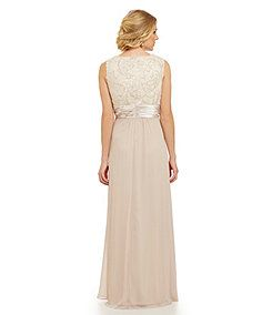 Jessica Howard Embroidered Gown