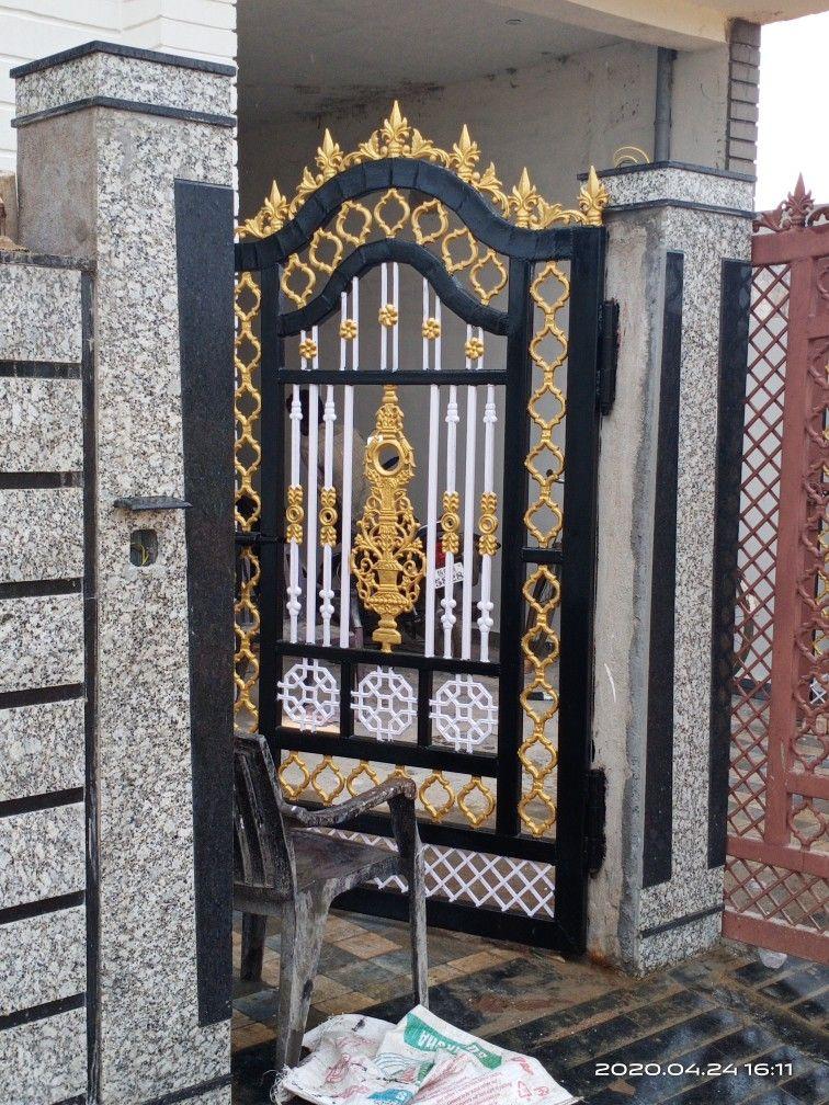 Gate Colour : colour, Painting, House, Outside, Design,, Grill, Design