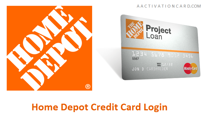 Home Depot Credit Card Login Home Depot Credit Card
