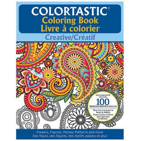 As Seen On TV Colortastic Adult Coloring Book Multicolor
