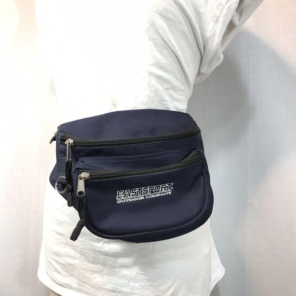 0a3db4511f5 EastSport Nylon Fanny Pack Outdoor Travel Blue Boho Hippie Festival Bag  Vintage #Eastsport #fannypack #travel #festivalfashion #festivalstyle