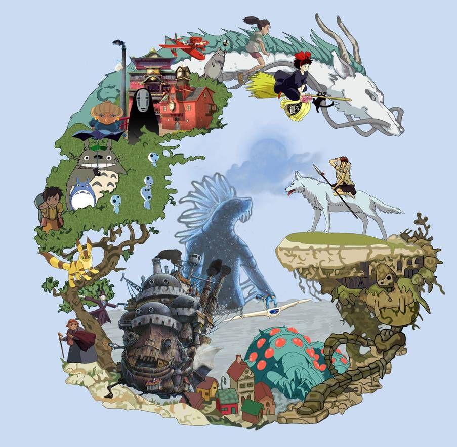 Studio Ghibli Collection by DinstruMental on DeviantArt