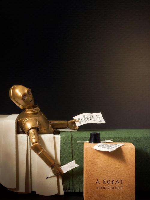 La mort de Marat vs. La mort de C-3PO