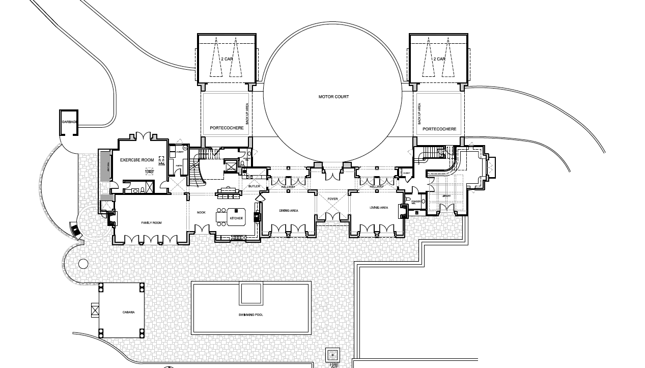 Mansion Floor Plans 3115 Ralston Avenue Hillsborough