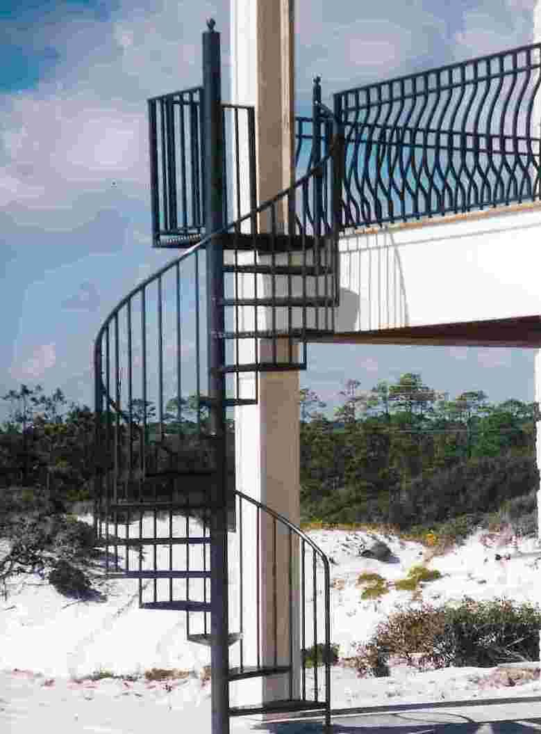 aluminum spiral staircase prices