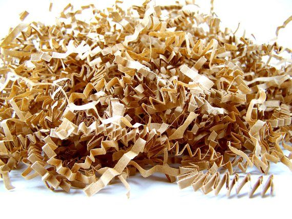 Cool Shredded Paper 16 Oz Kraft Brown Paper Shred Krinkle Ocoug Best Dining Table And Chair Ideas Images Ocougorg