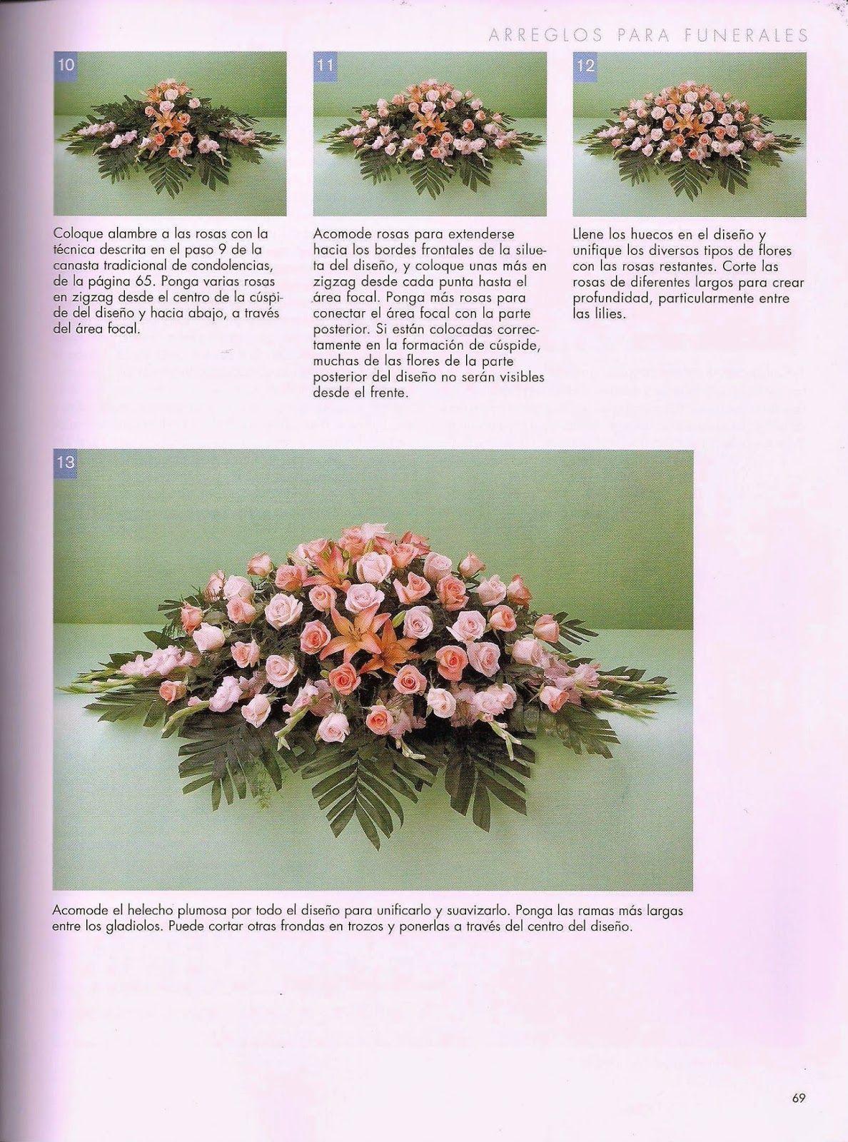 como hacer arreglos florales- revista gratis | FLORES | Pinterest ...