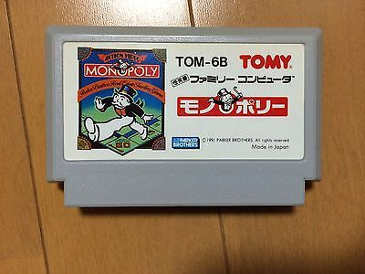 Monopoly Famicom Japan Ntsc J Nintendo Family Computer Store
