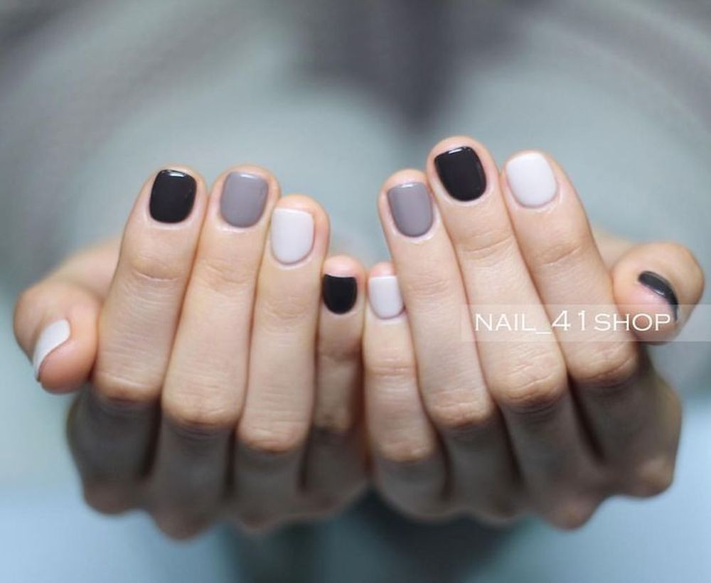 43 Cute Fall Nail Color Trending Right Now Cute Nails For Fall Sns Nails Colors Sns Nails Designs