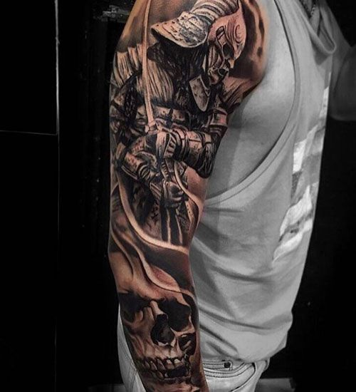 101 Best Sleeve Tattoos For Men Cool Designs Ideas 2019 Guide Tattoo Sleeve Men Sleeve Tattoos Full Sleeve Tattoo Design