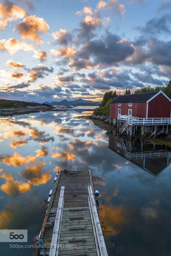 Floating Dock In Heaven by andresen1 #landscape #travel
