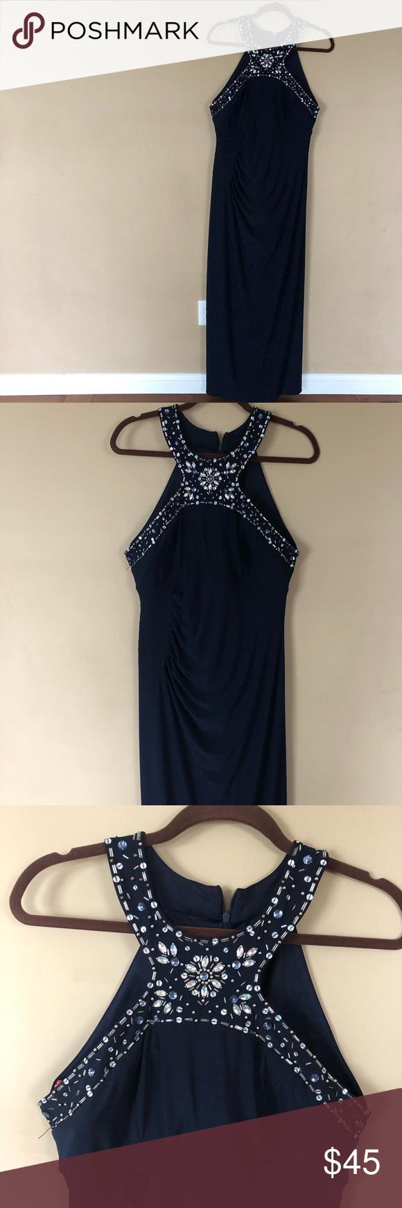Navy Blue Formal Dress Blue dress formal, Navy blue