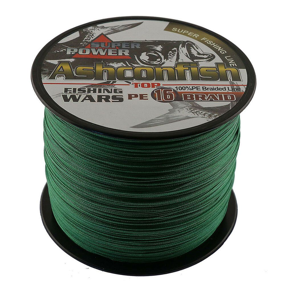 Ad Ebay 16 Strands 1000m Braided Fishing Line Japan Multifilament