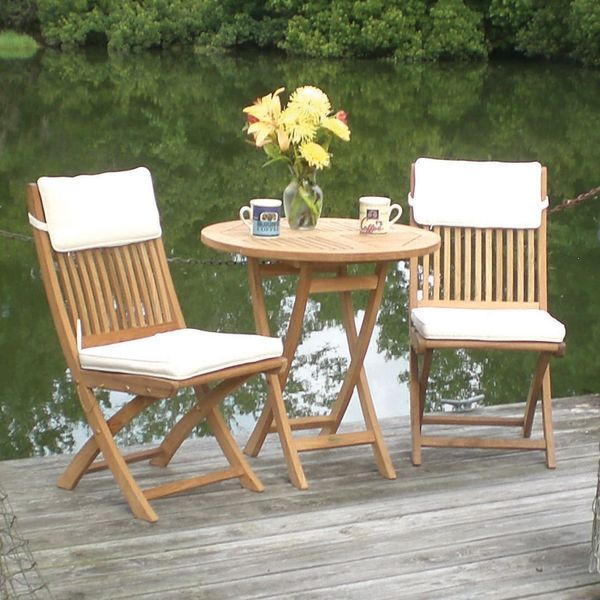 Awesome New Teak Patio Furniture Sets About Remodel Small Home - Small teak patio table