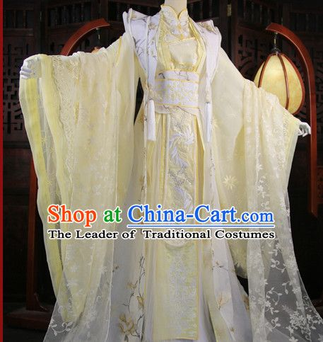 Chinese Traditional Empress Royal Stage Hanfu Hanbok Kimono Costume ...