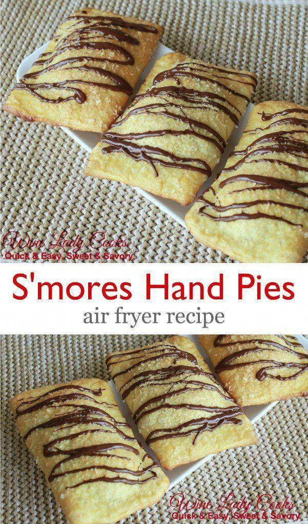 Air Fryer S'mores Hand Pie Recipe Recipe in 2020 Air