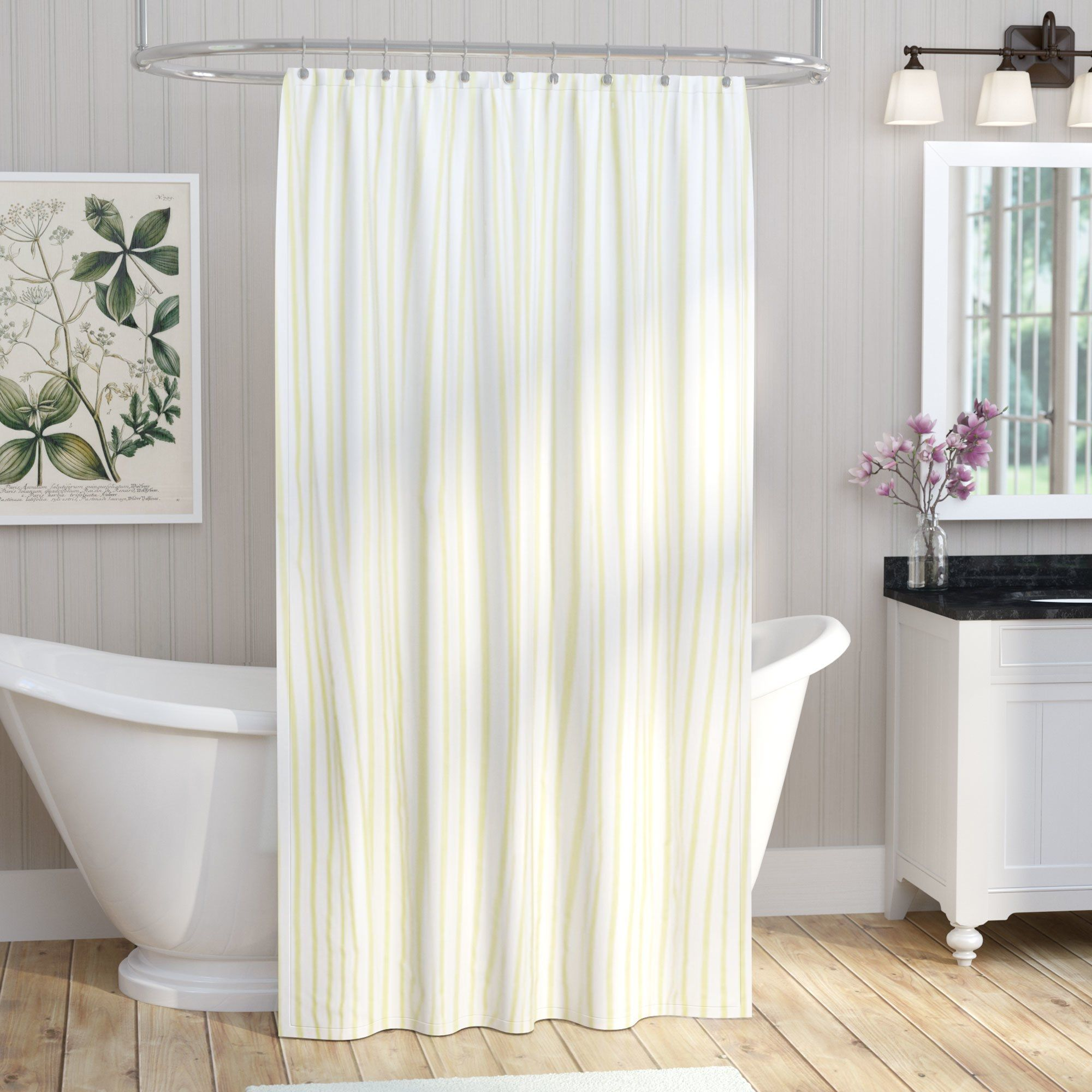 Lovely Charisma Samara Shower Curtain