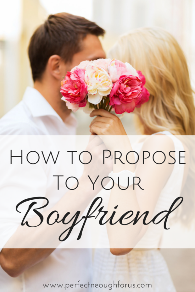 Getting Married Is A Big Decision To Make And Popping The Question