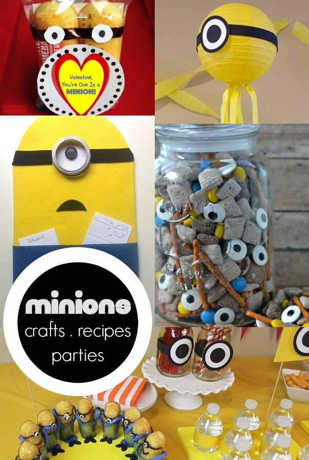 Fun Ideas For Dinner Parties Part - 43: Fun Roundup Of Minions Ideas For Parties, Recipes, Crafts + More