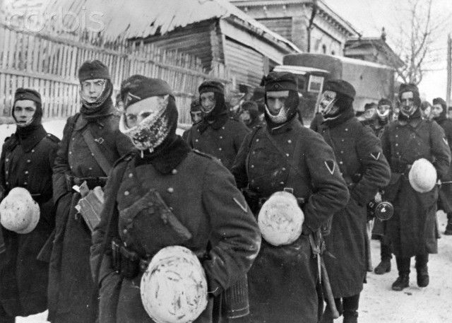 December 1941 Nazis in Russia discover minus 30 degree centigrade temperatures. This was a wake up call for the Nazis, and within a year they faced defeat at Stalingrad. Still strong, they were so arrogant that they had invaded the USSR with no winter clothing in summer 1941.