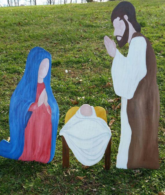 50 off SALE! Christmas Nativity Set Christmas Yard Pinterest
