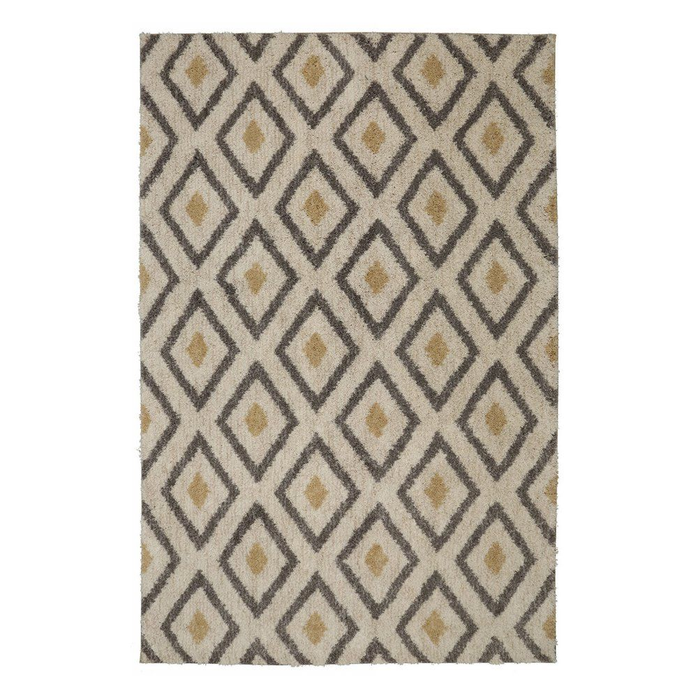 Mohawk home laguna tribal diamond woven indoor area rug home