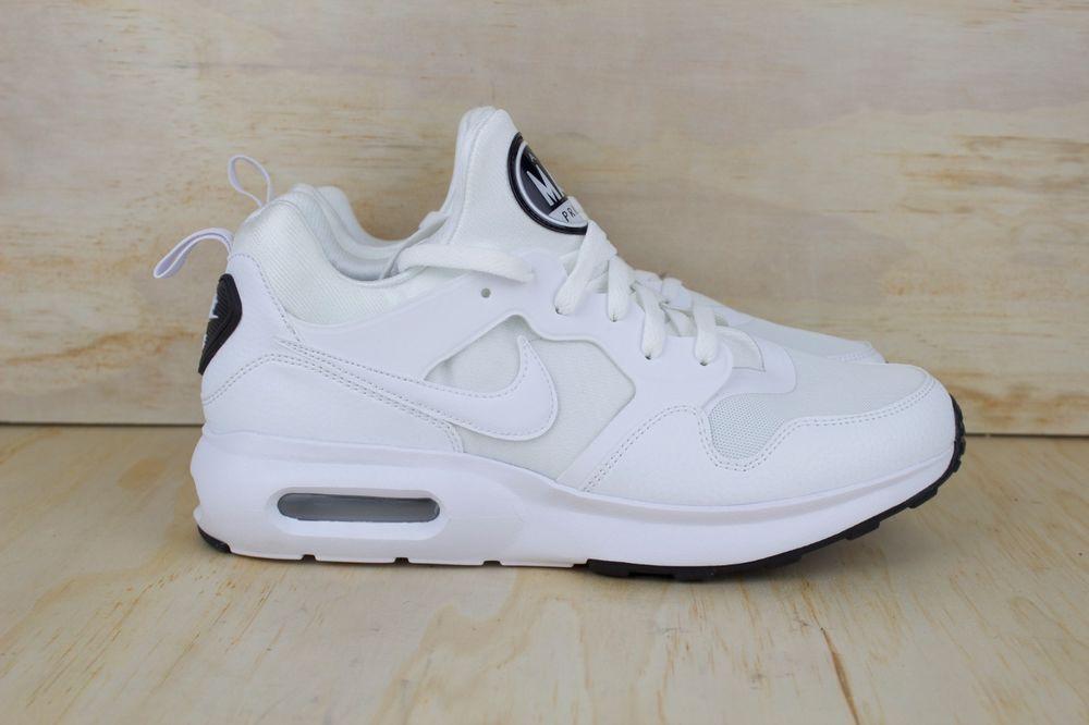 NIKE AIR MAX PRIME (876068 100) White Pure Platinum Mens