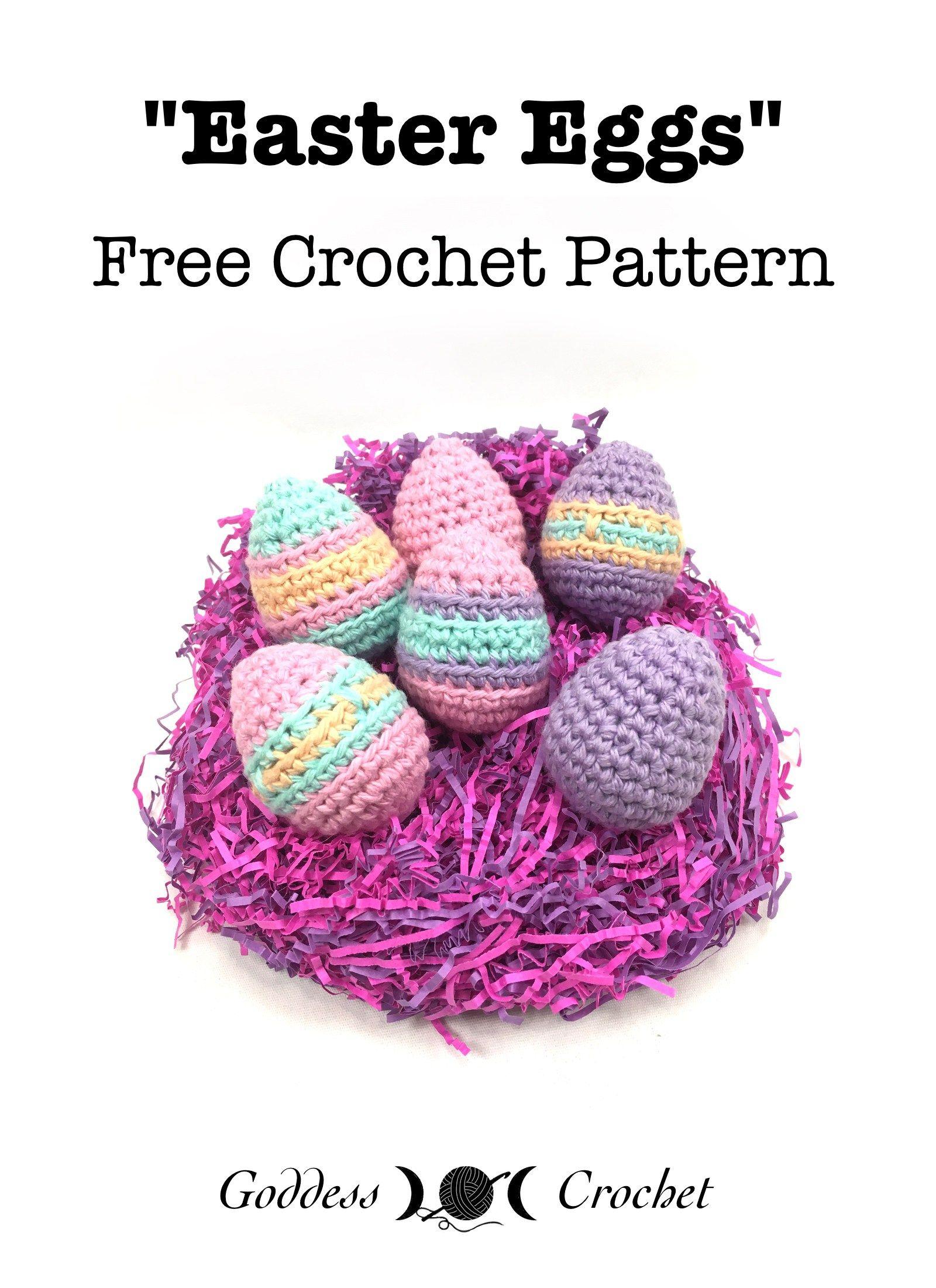 Easter Eggs – Free Crochet Pattern | genial | Pinterest